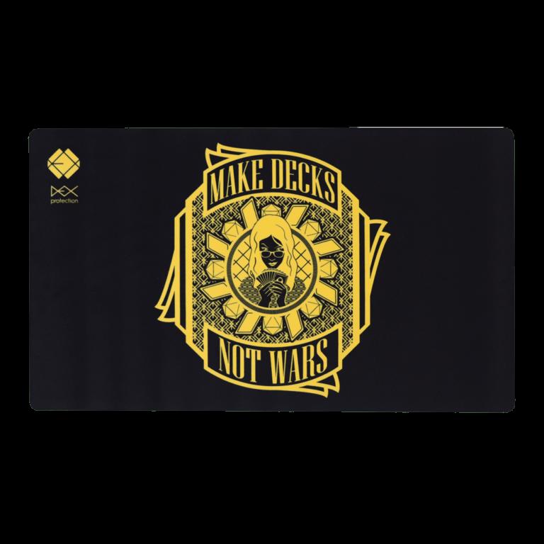 Dex Playmat - Gold and Black Dawn